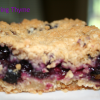 Cafe' Blueberry Bars