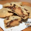 Chocolate Chip-Peanut Butter Cup {Cookie} Sandwiches!-Wicked Weekend