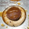 Salted Caramel Peanut Butter Cup Blossoms