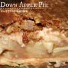 Upside Down Apple Pie +{Mr. Food and another Birthday}