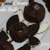 Cookies and Cream Cake Balls