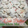 Cake Batter Puppy Chow Mix {Birthday Cake Chex Mix}