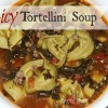 Spicy Tortellini Soup