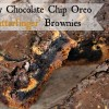 Fudgy Chocolate Chip Oreo Butterfinger Brownies