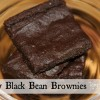 Fudgy Black Bean Brownies and {Vegan Beans from Around the World}