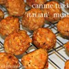 Dog Gone Good Cuisine + {Turkey Meatballs}