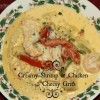 Creamy Shrimp and Chicken with Cheesy Grits: Holiday Recipe