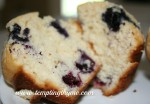 Blueberry and Cream Muffins