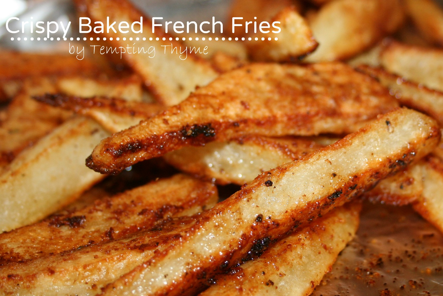 ... you….look at me, we live in Suburgatory! {Crispy Baked French Fries