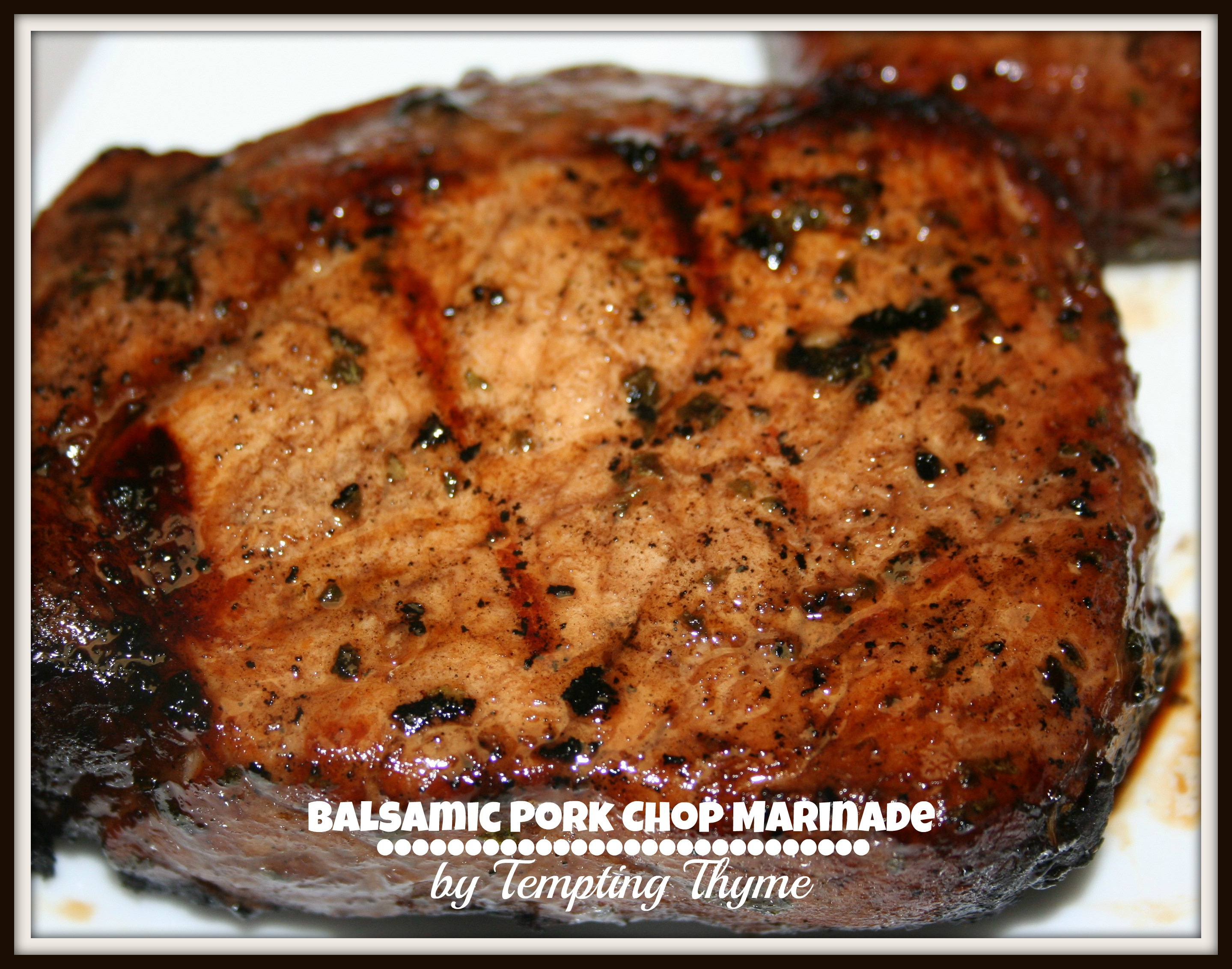 Balsamic Pork Marinade