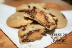 Tempting Thyme Chocolate Chip Peanut Butter Cup {Cookie}