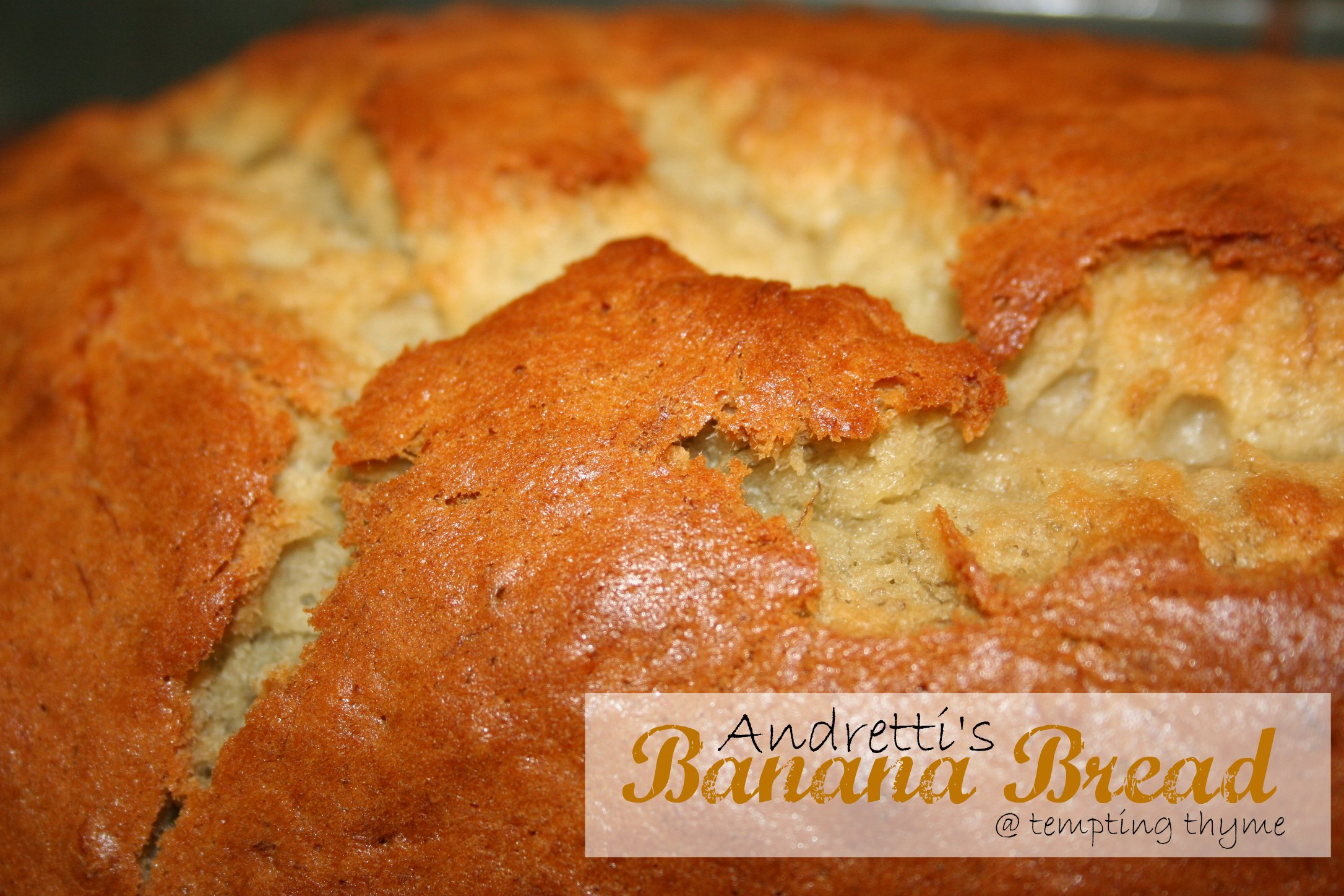Tempting Thyme Banana Bread