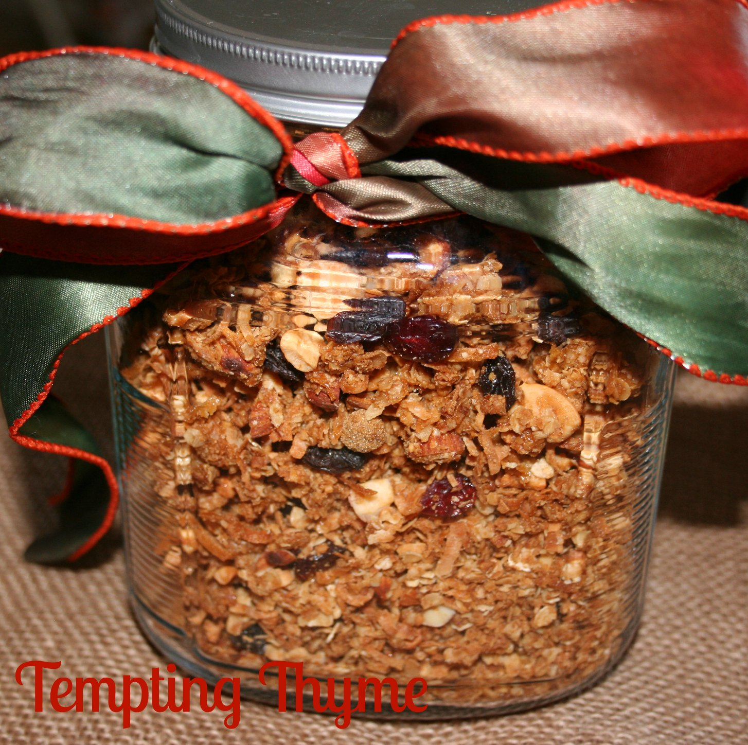 Tempting Thyme Granola