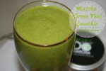 Tempting Thyme Matcha Green Smoothie