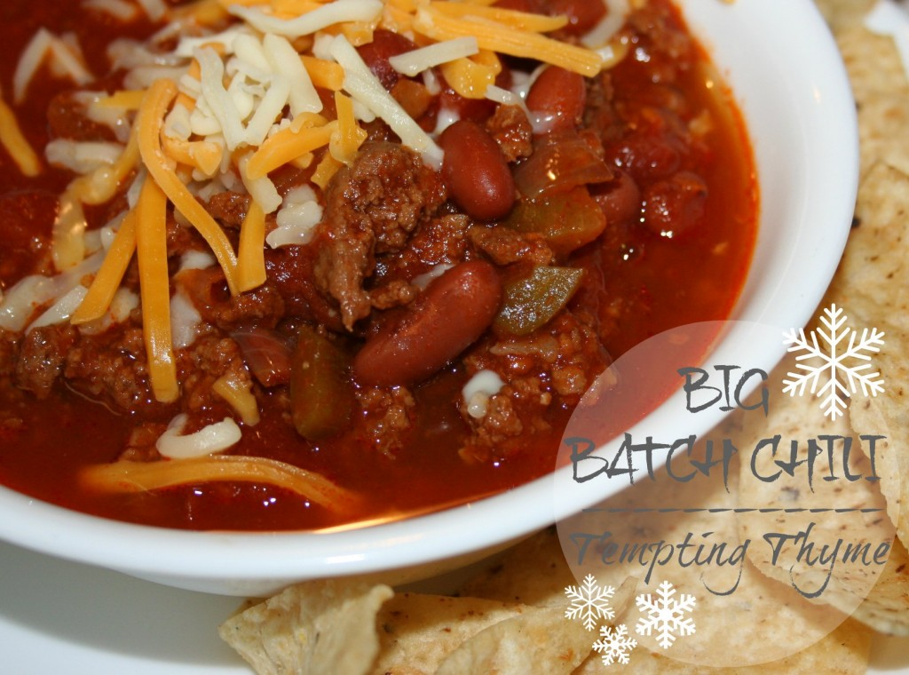 Big Batch Chili