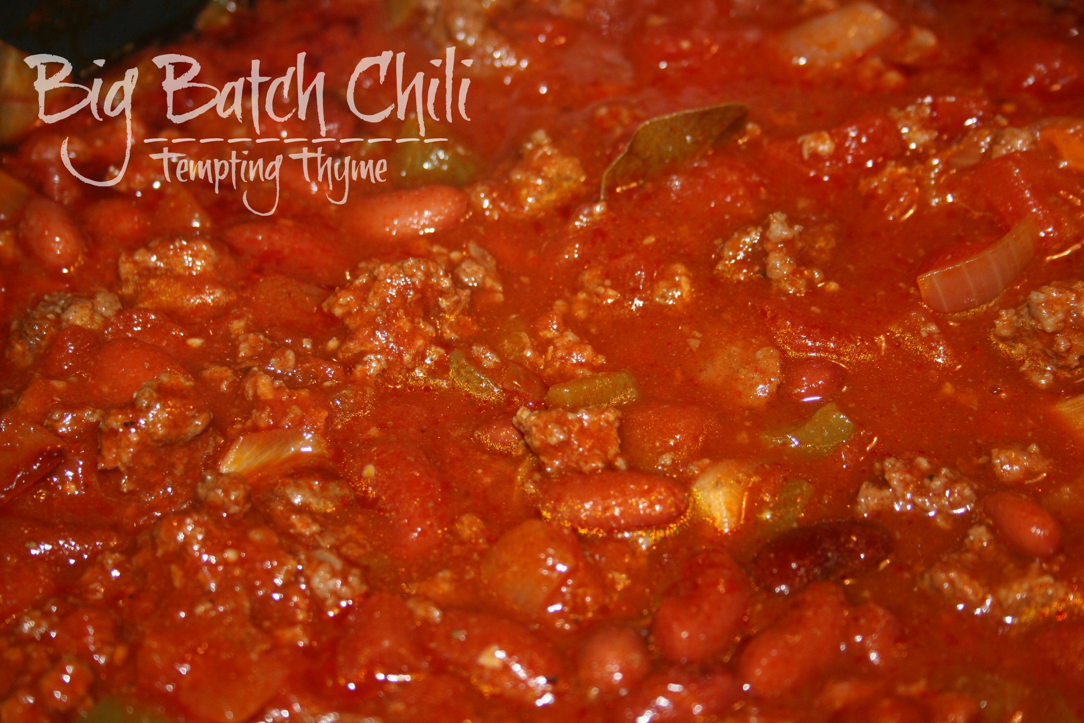 Tempting Thyme Big Batch Chili