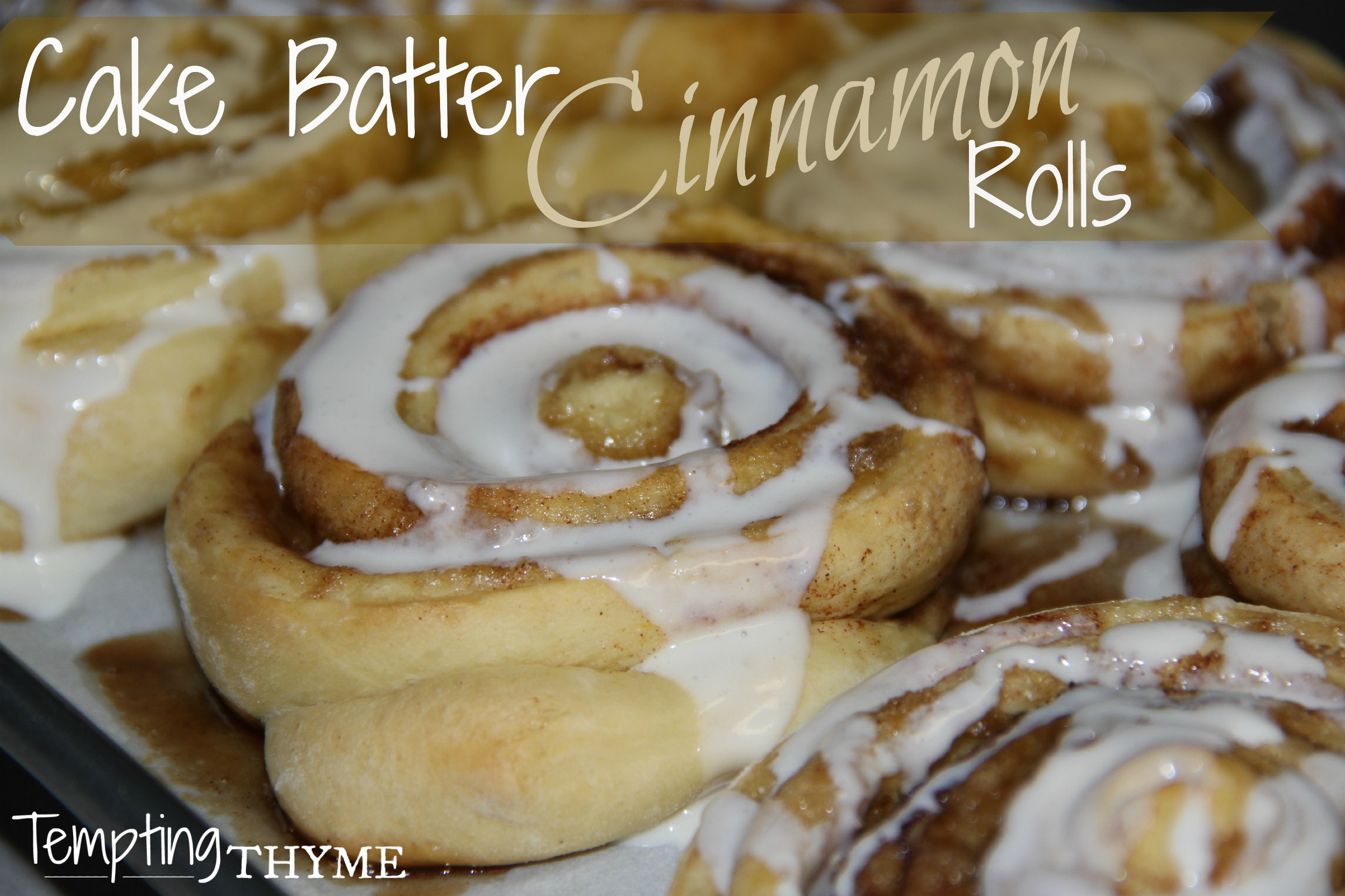 Cinnamon Roll Cake Recipe With Yellow Cake Mix
