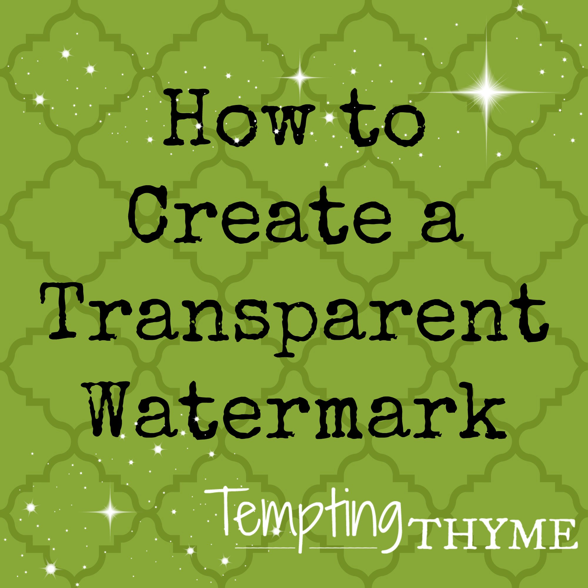 Tempting Thyme DIY Blog Design