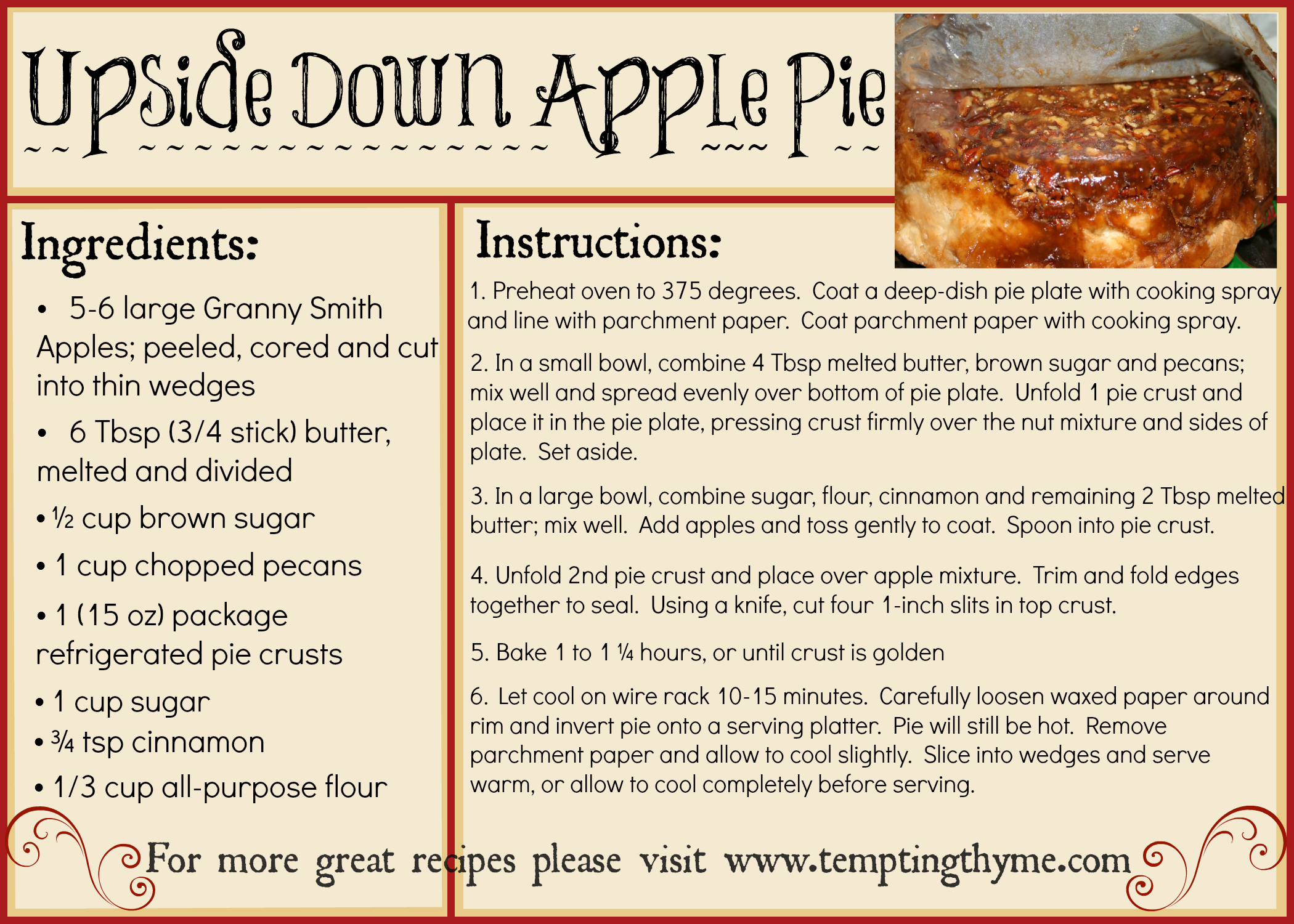 Making Recipe cards using Picmonkey {How To} | tempting thyme