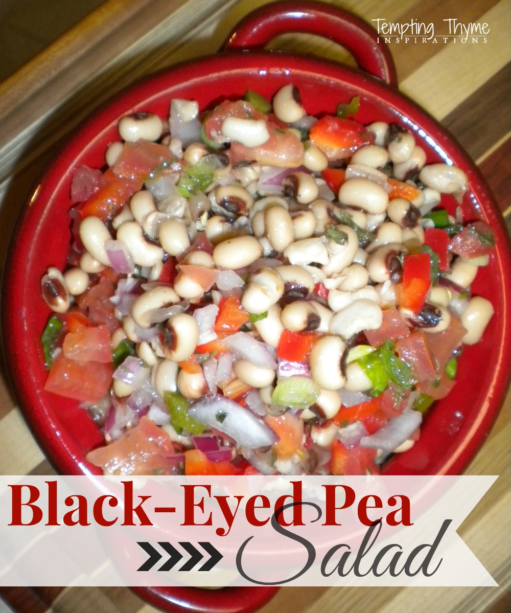 Black-Eyed Pea Salad {Not just for New Years Eve} | tempting thyme