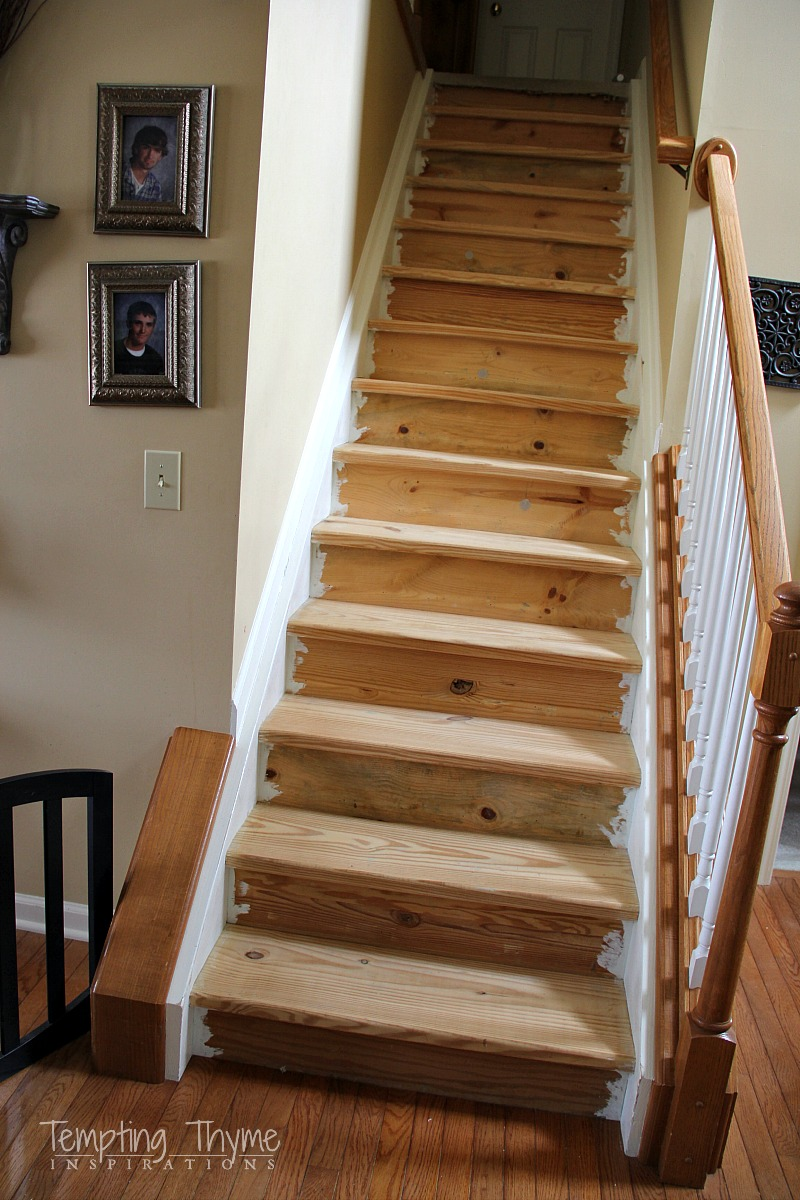 DIY Interior Stairs