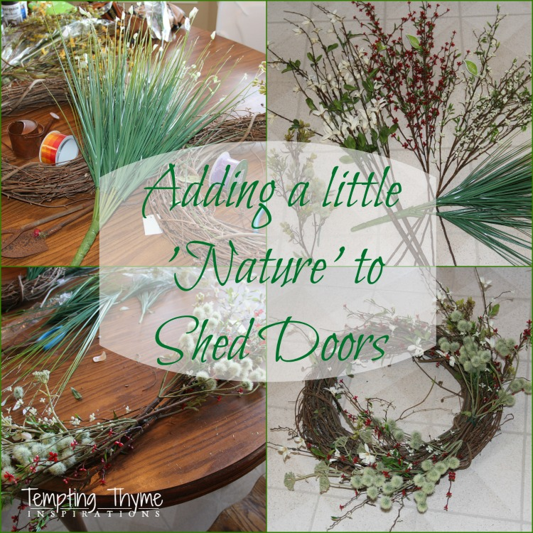 Grapevine Door Wreaths