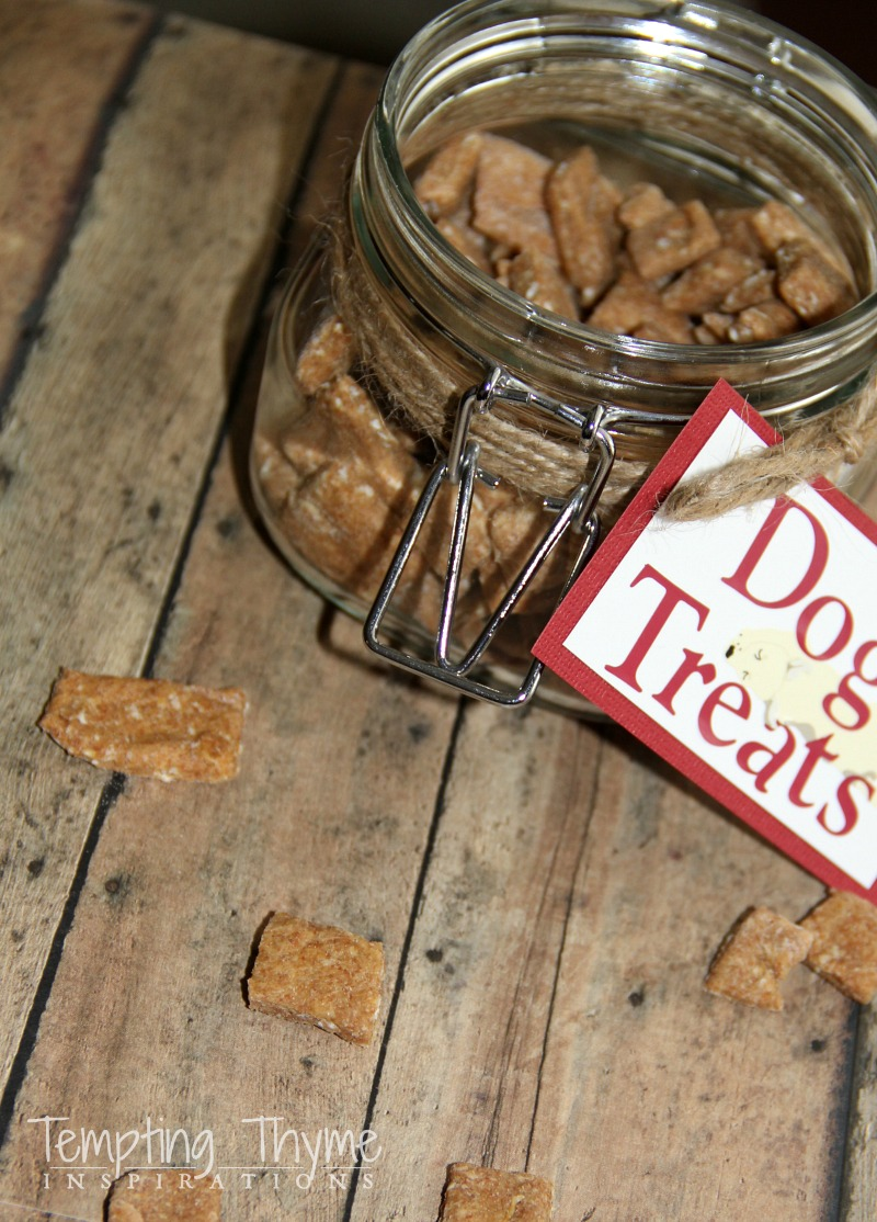 Honey Oatmeal Dog Treats