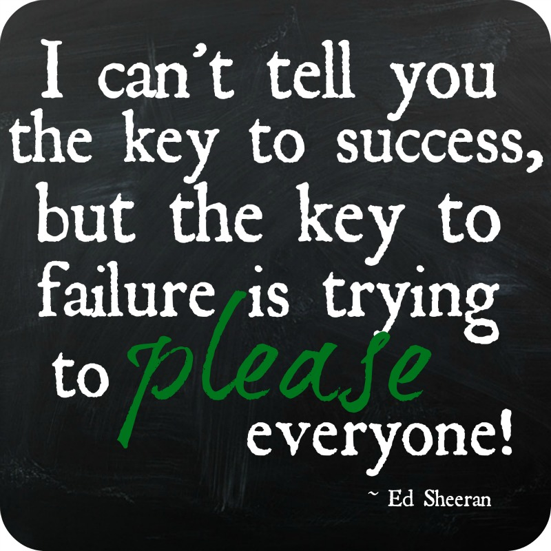 The Key to Success Quote