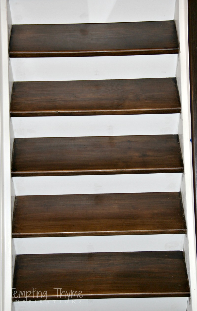 how to install stair risers