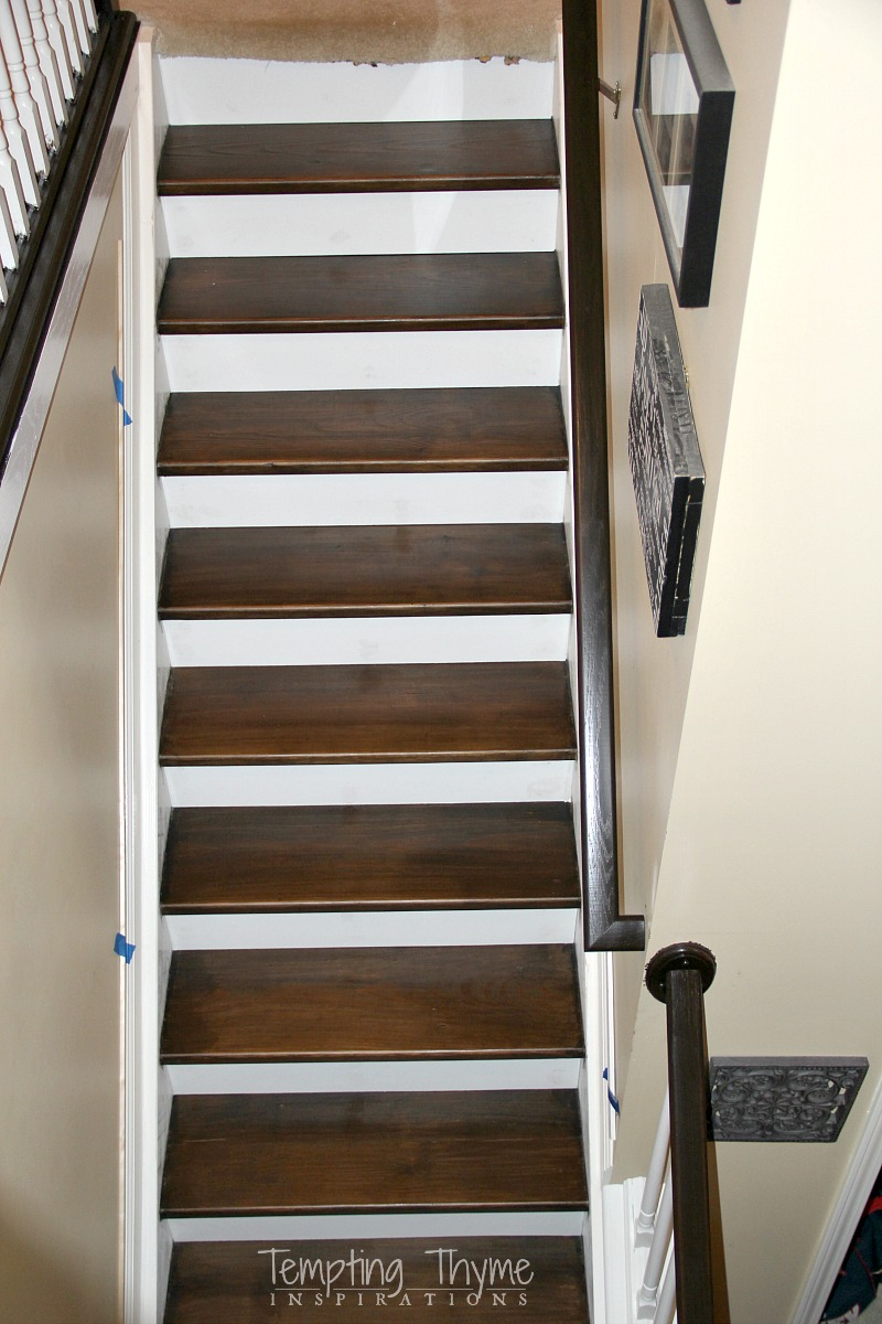 Charmant Stair Riser Installation