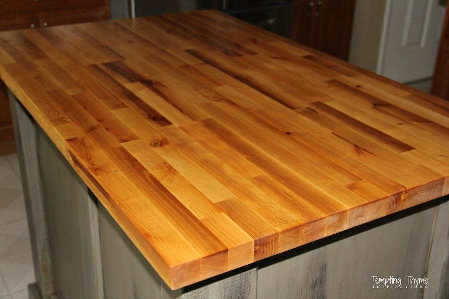 butcher block care instructions installation