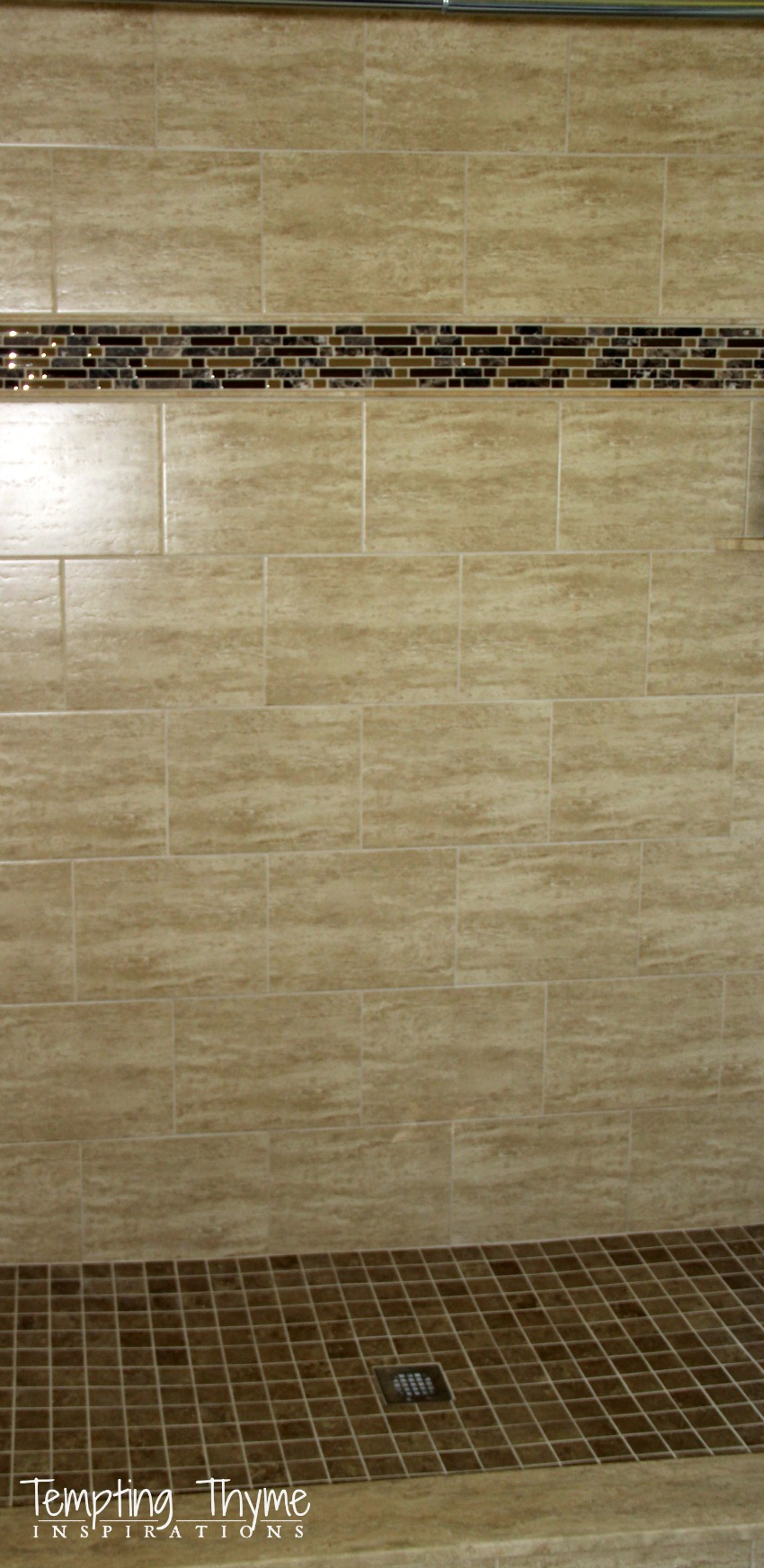 Remodeling a shower with tile