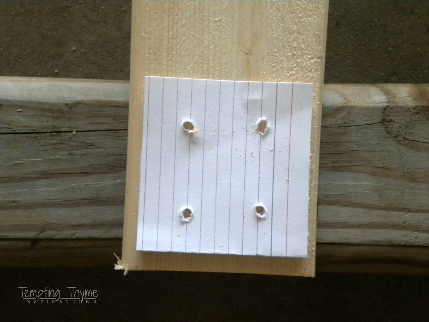 Potting bench template