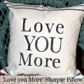 DIY Sharpie Pillow