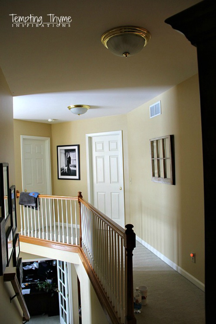 DIY Ceiling Light Makeover