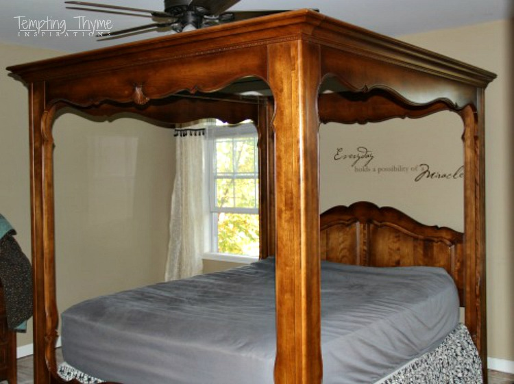 Ethan Allen Country French Bed