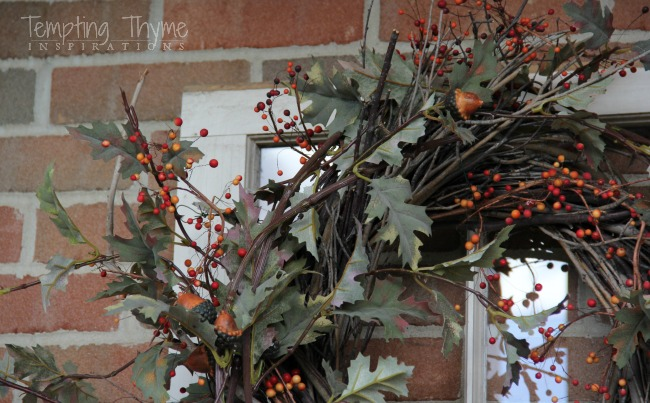 Grapevine wreath-DIY Fall Wreaths