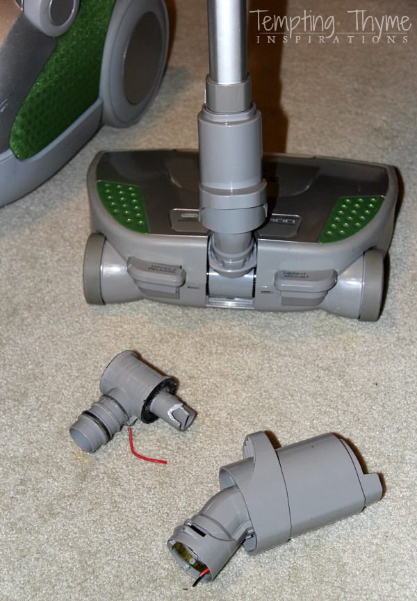 DIY vacuum cleaner-how to repair a vacuum cleaner