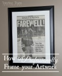 Framing Artwork-DIY Artwork