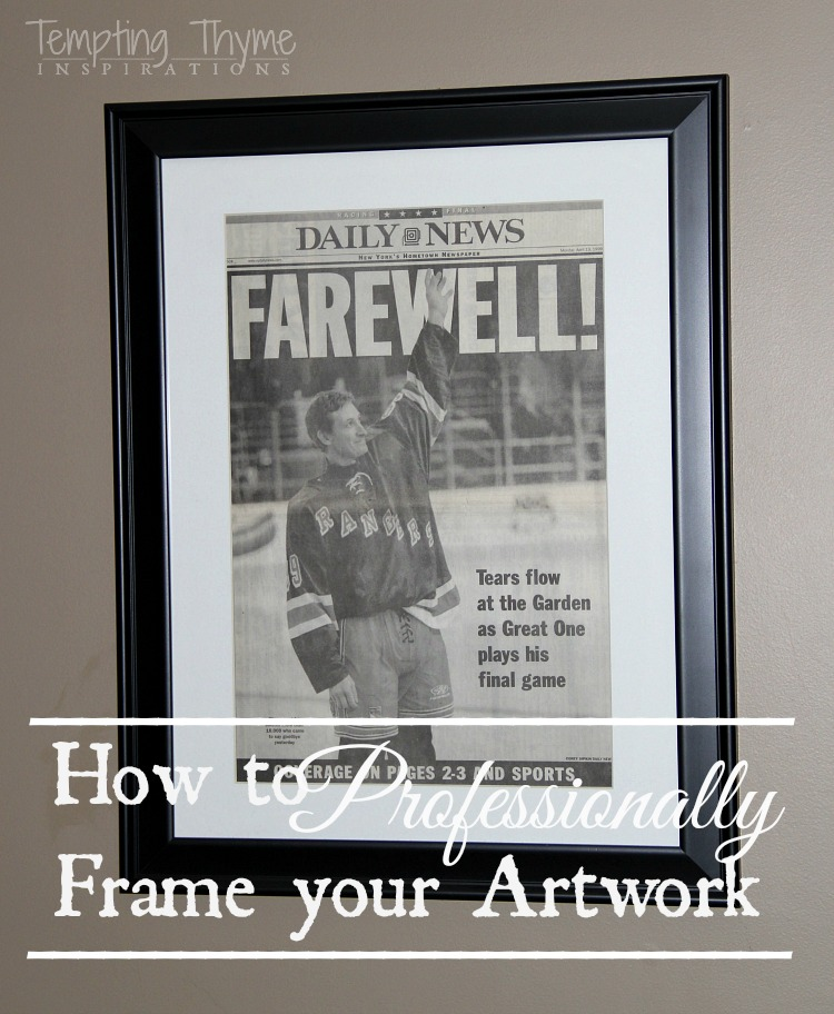 How to professionally frame your artwork on a budget tempting thyme framing artwork diy artwork solutioingenieria Gallery