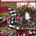 Bows for wreaths-decorating for the holidays