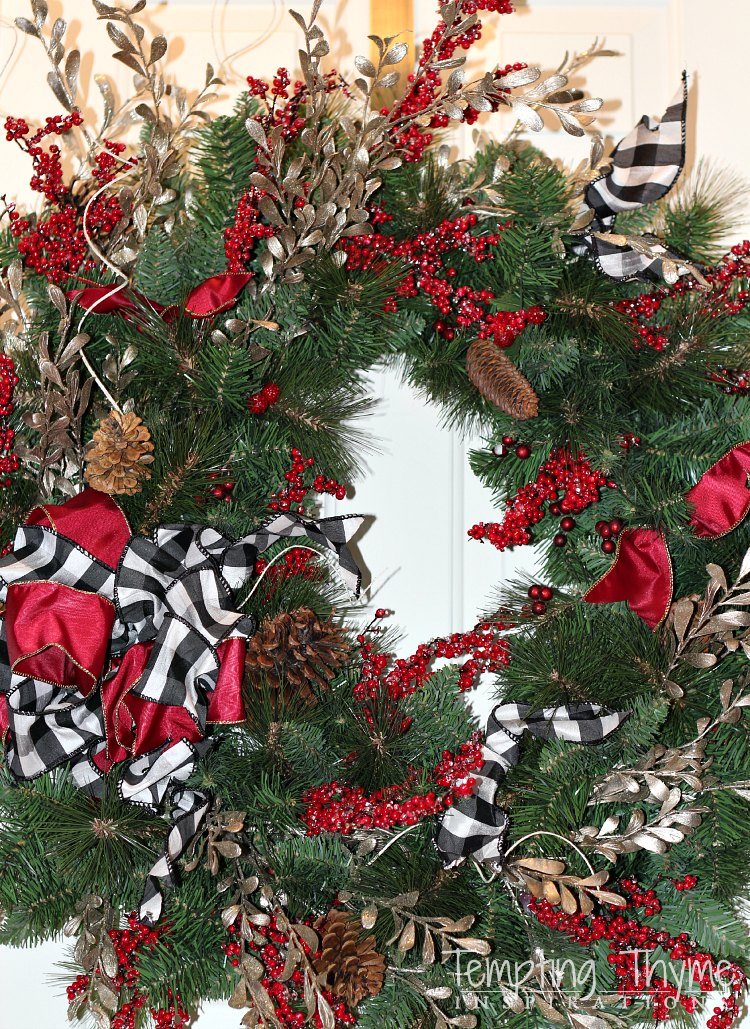 Holiday Decorating-Christmas Wreath