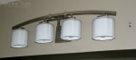 How to swap out bathroom lighting