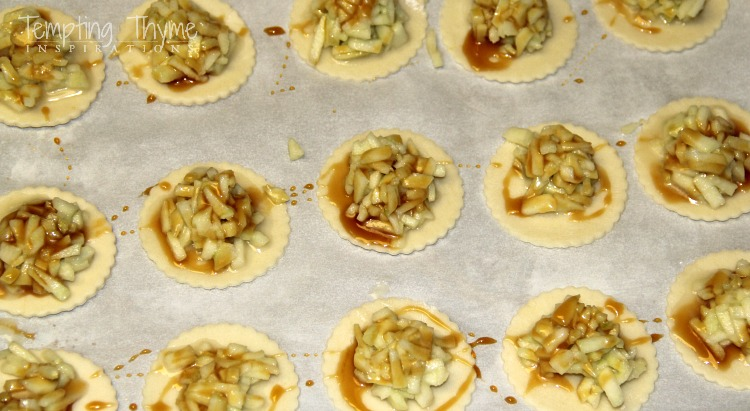 mini caramel apple pies-Apple Pie