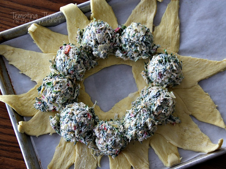 Spinach and Artichoke Appetizers