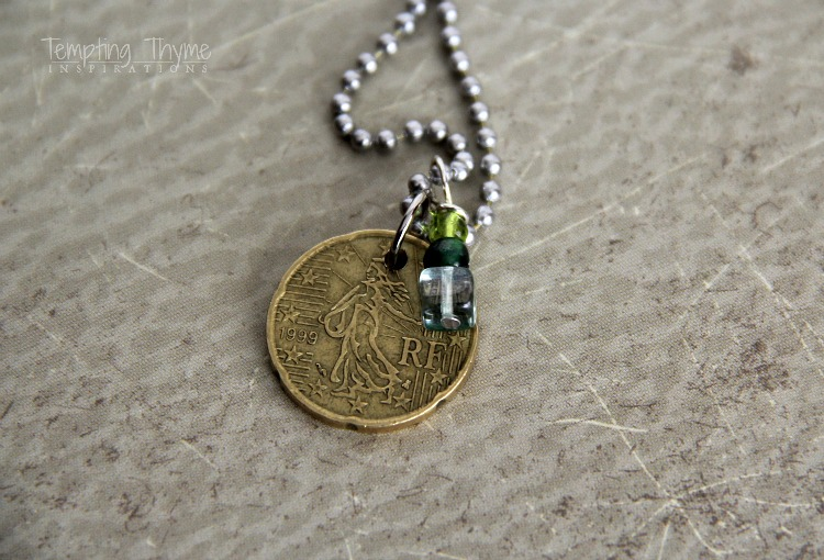 Using coins to make jewelry
