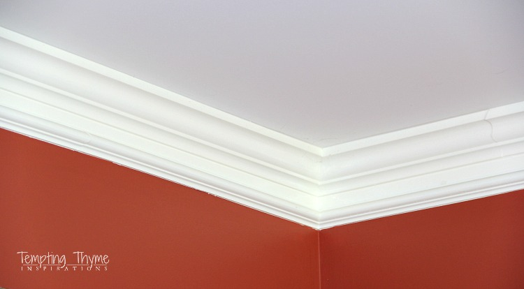 Simple way to make your crown molding look more expensive!