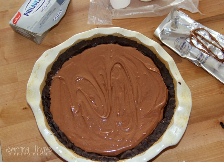 The most unbelievable chocolate pie you will ever taste. Part cake....part pie! Perfect combination!
