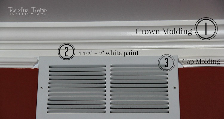 simple way to make your crown molding look more expensive