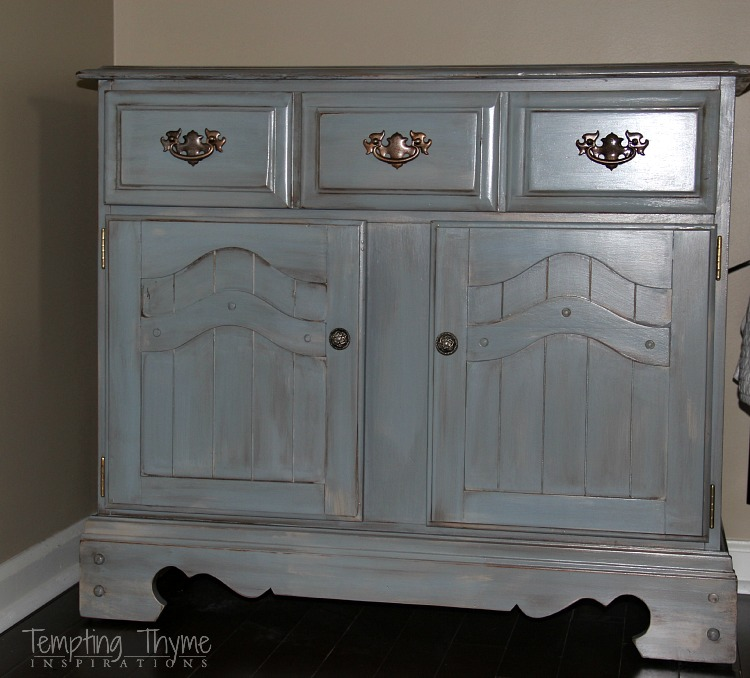 Tips and tricks when painting Goodwill, or thrift store, furniture